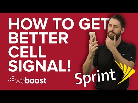 How to Improve & Boost Cell Phone Signal for Sprint | weBoost