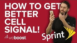 How to Improve & Boost Cell Phone Signal for Sprint   weBoost