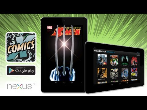 Comics by comiXology on Nexus 7