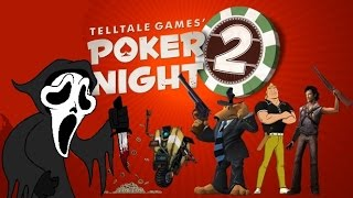 Poker Night 2 (2013) - Ghostface dominate at poker (PC Ultra 1080p 60fps)