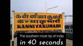 Discover Kanyakumari with RailYatri in 40 secs!