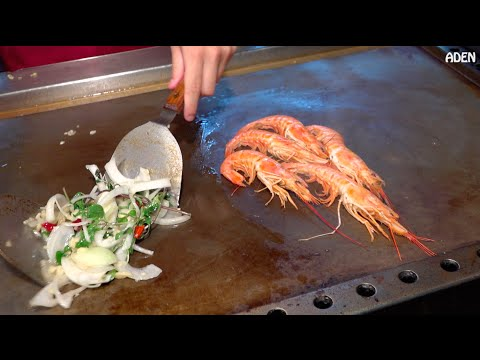Giant Prawn / Jumbo Shrimp - Taiwanese Street Food ジャンボエビ