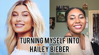 Turning Myself Into Hailey Bieber!!!