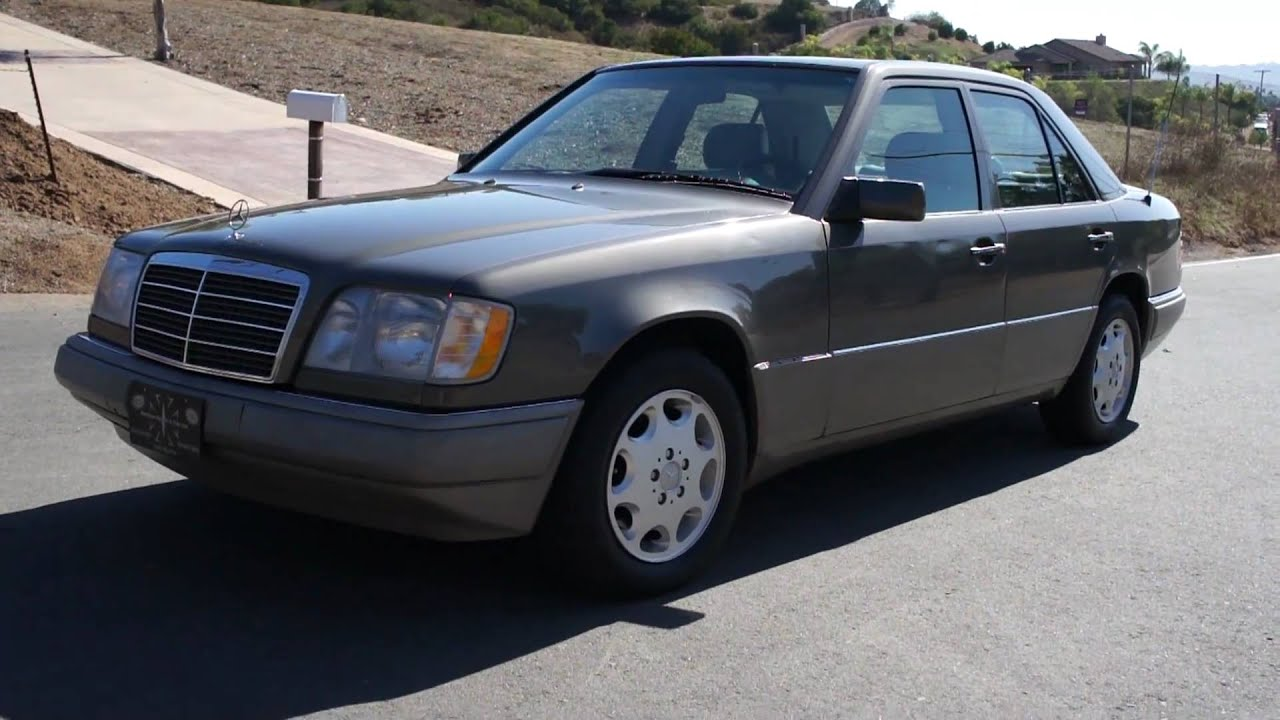 1 owner 94 mercedes benz e320 w124 sedan w124 sedan 79k for Mercedes benz e320 1994