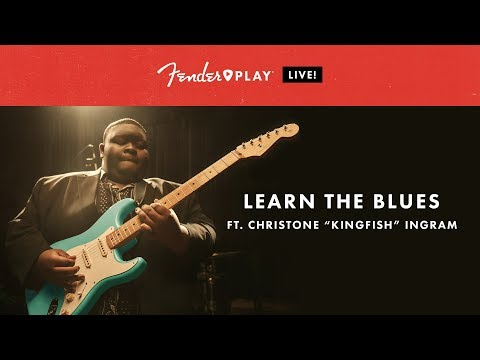 """Fender Play LIVE: Learn The Blues With Christone """"Kingfish"""" Ingram 