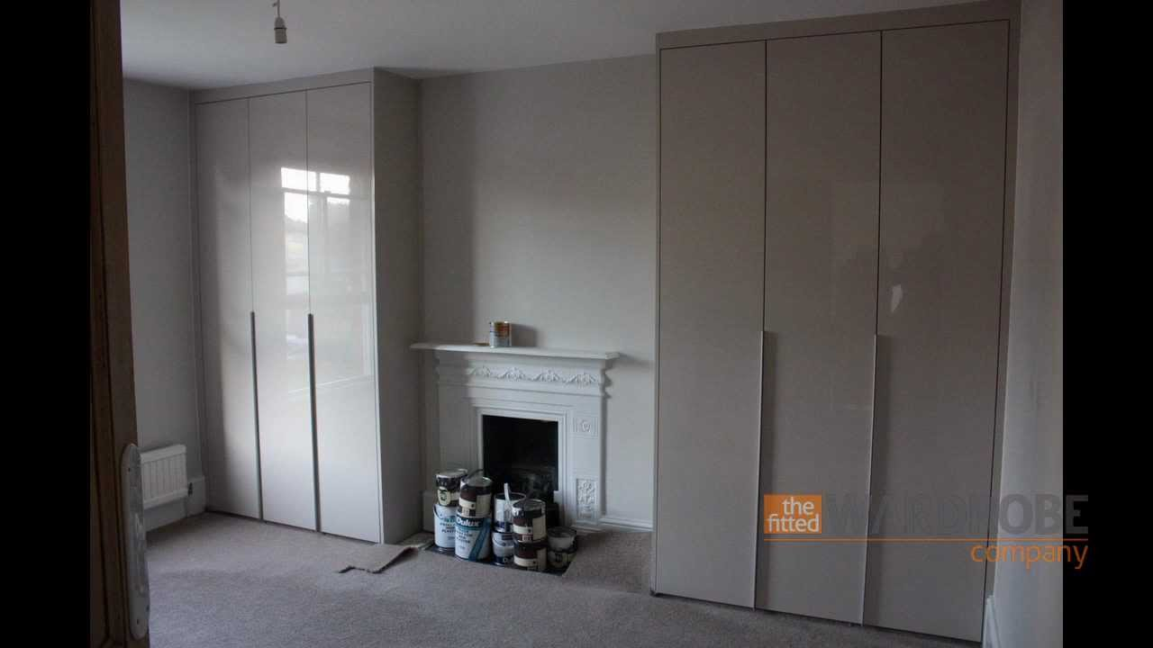Signature Collection Built In Wardrobes Sandstone Gloss