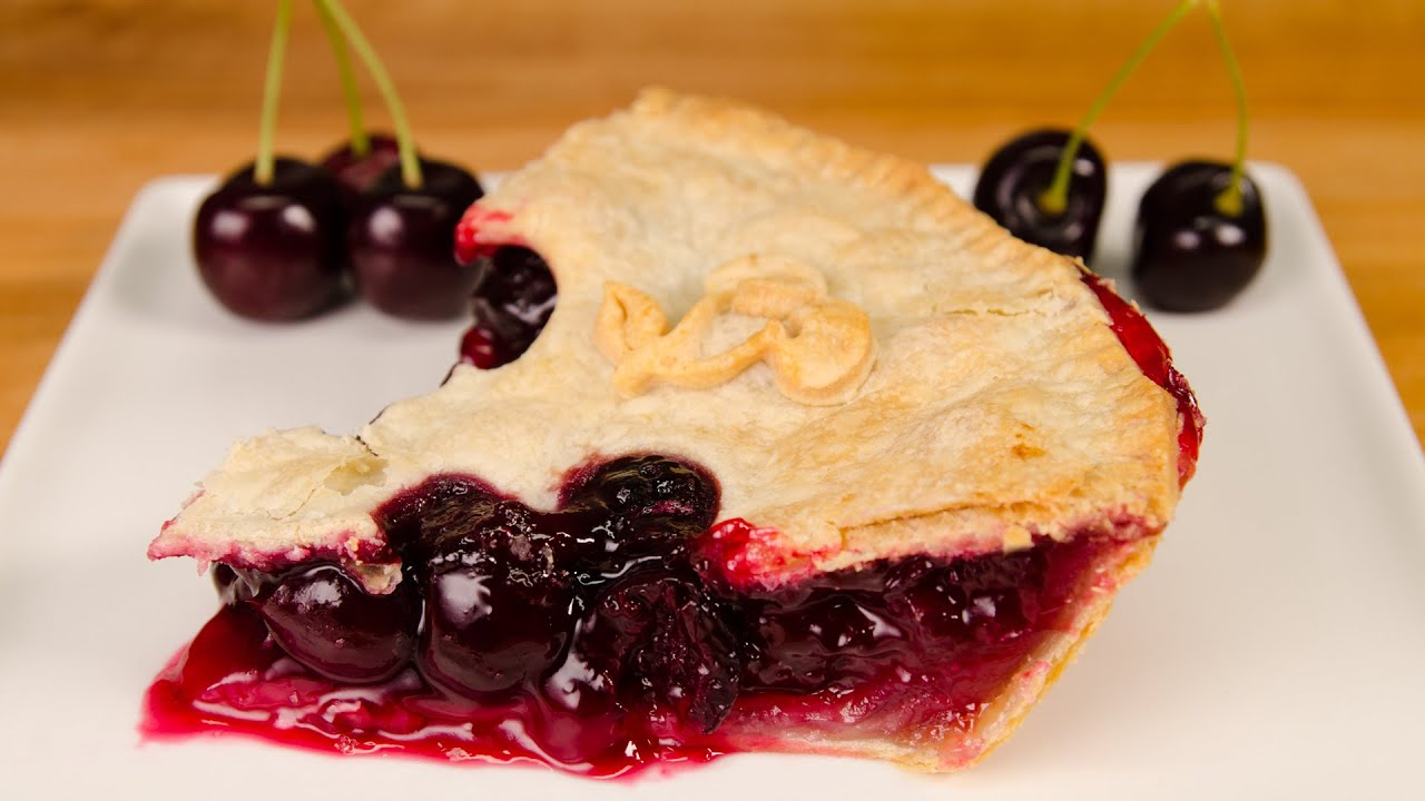 Cherry Pie Recipe from Cookies Cupcakes and Cardio - YouTube
