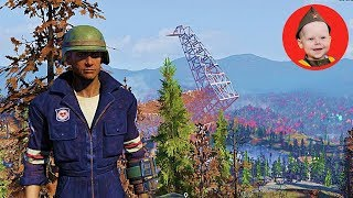 Fallout 76. Overland to the Array - We Continue the Signal Strength Quest (PS4 gameplay. Episode 19)