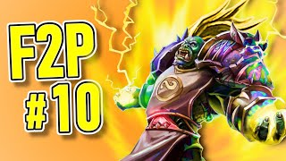 F2P #10: The Super Shaman Saga | Forged in the Barrens | Hearthstone