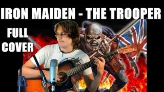 Iron Maiden - The Trooper [FINGERSTYLE GUITAR] Cover Acoustic Guitar solo