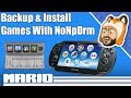 How to Backup & Install PS Vita Games with NoNpDrm | Vita Game Dumping Tutorial
