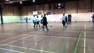 Ghostriders vs. Pacific Jaguars - Period 2 (12/10/11) Ball Hockey Videos