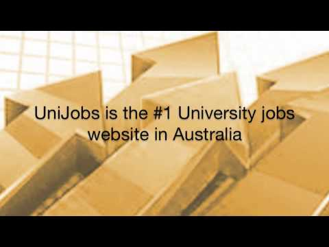 UniJobs - A tour through Australia's #1 University Job Website