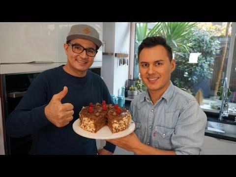 G teau chocolat framboise et cr me de marron facile feat - Youtube herve cuisine ...