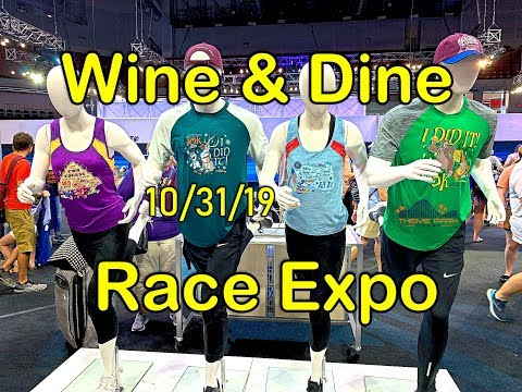 Run Disney Wine And Dine Expo 2019
