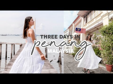 Three Days Solo Exploring In Penang, Malaysia's Little Heaven ⎮Travel Vlog