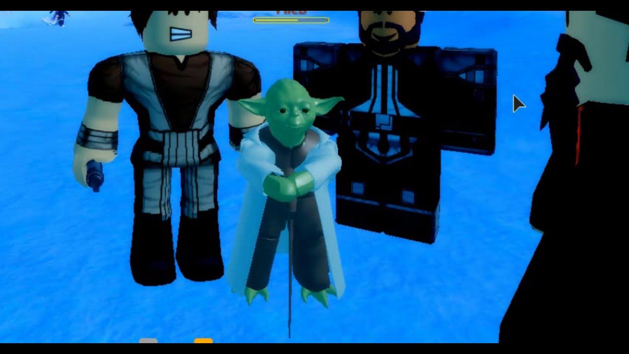 Roblox Ilum 2 Yoda Custom Morph Roblox Star Wars Youtube