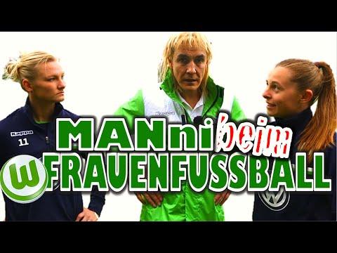 Die Frauen des VfL Wolfsburg erteilen MANni eine Lehrstunde
