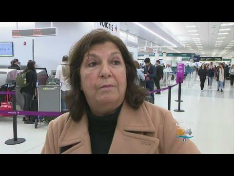 Government Shutdown Impacting Security At Miami International Airport