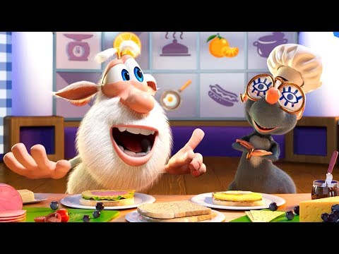 Booba - ep #40 - Booba the Chef: Funny Cooking 🍔 - Funny cartoons for kids - Booba ToonsTV