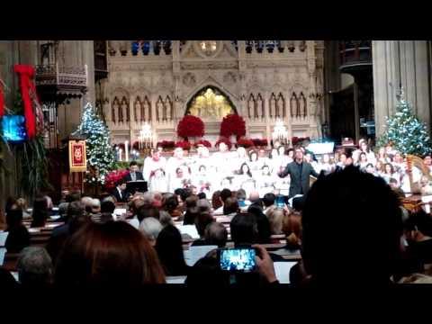 NYC Wall Street Church LIVE Christmas eve music