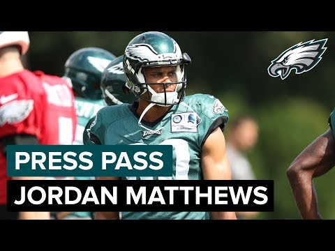 WR Jordan Matthews Happy To Return To Philadelphia | Eagles Press Pass