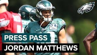 WR Jordan Matthews Happy To Return To Philadelphia | Eagles Press Pass