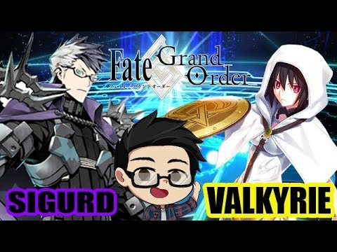 [Fate/Grand Order JP] Sigurd & Valkyrie Pick Up Gacha