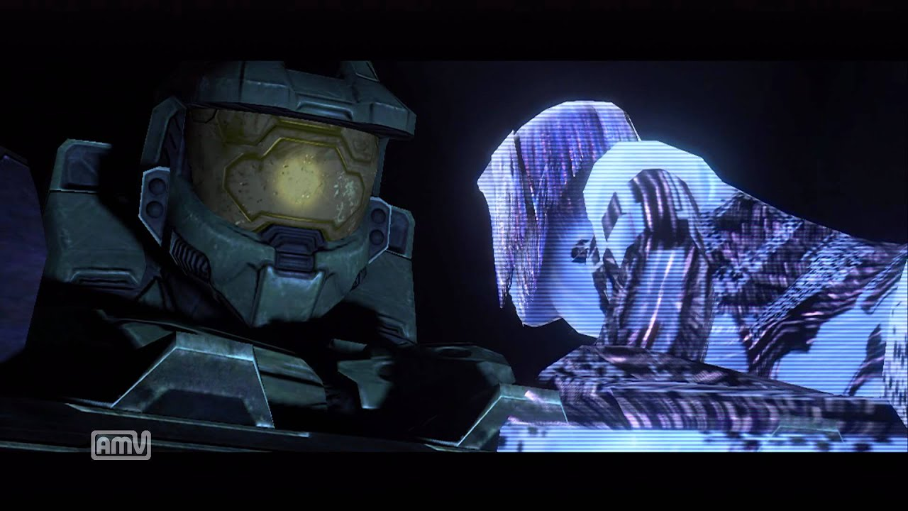 chief and master cortana Halo
