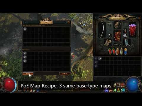 PoE Map Recipe