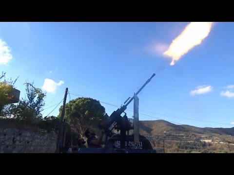 Syria - Battlefield Latakia: FSA in Insane Intense Firefights and Fighting with SAA 1080p