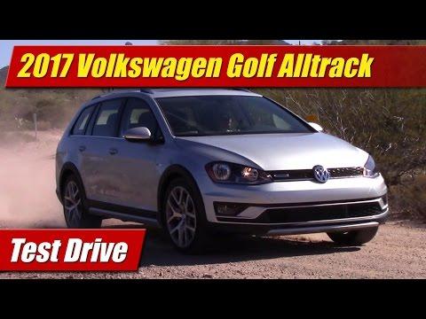 2017 Volkswagen Golf Alltrack: Test Drive