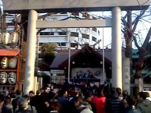 Namiyoke Inari Shrine (Chuo-ku, Tokyo, Japan, 2013-02-03)