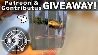 """Shooting """"Bullet Proof"""" Glass in Slow Motion.  & Patreon/Contributus Giveaway! GunCraft101"""