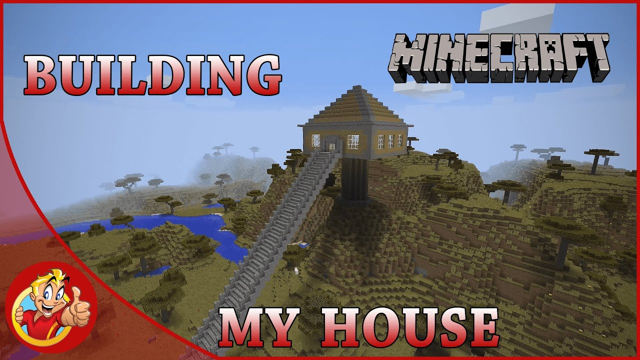 MINECRAFT - BUILDING MY HOUSE - KID GAMING WITH TABLE2PLAY