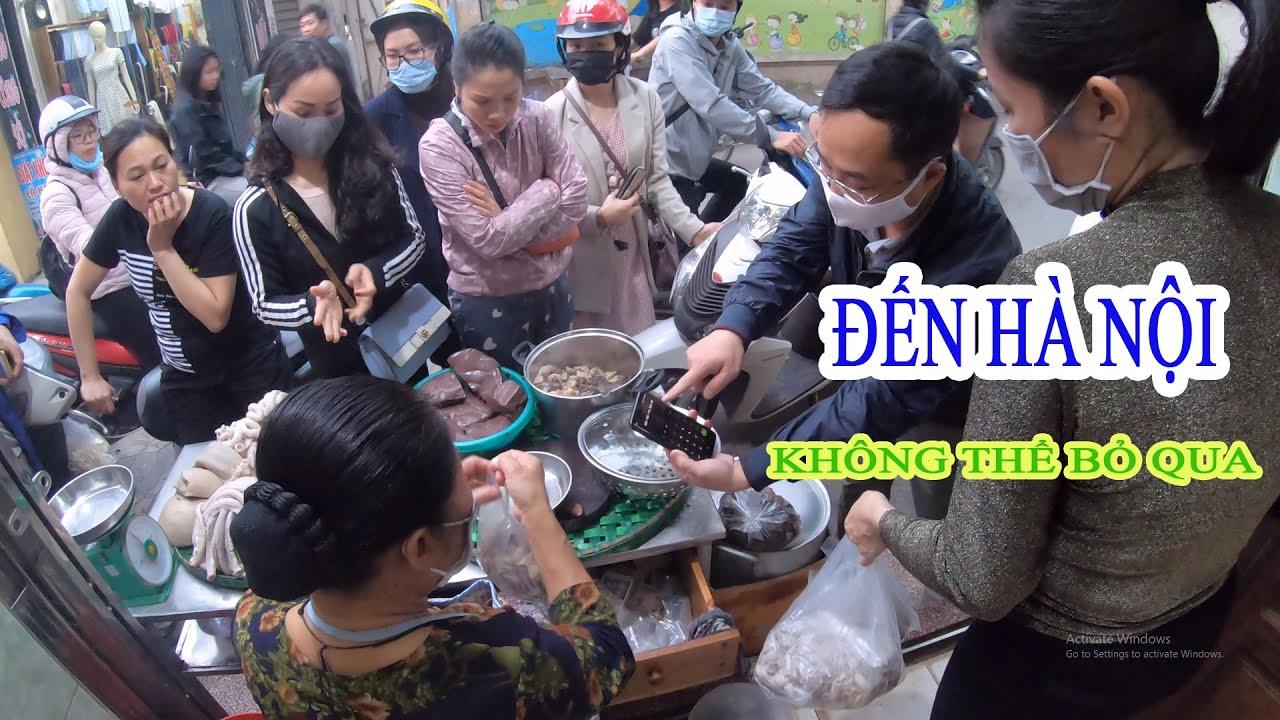 Món Ngon Nức Tiếng Hà Nội Quán Lòng Bà Phương Phường Yên Sở Quận Hoàng Mai.