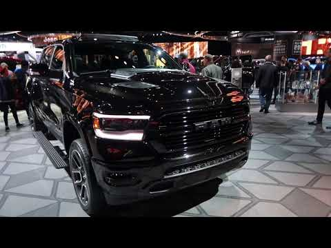 DODGE stole the show  2019 RAM  ??