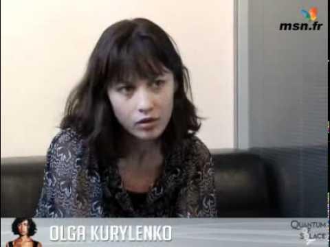 Olga Kurylenko speaks ... Olga Kurylenko Youtube