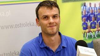 Dariusz Jastrzębski o meczu Pogonią II Siedlce
