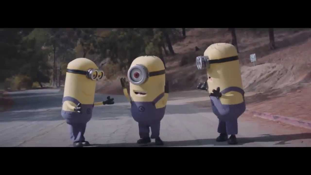 happy minions dancing youtube