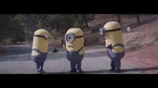 happy minions dancing