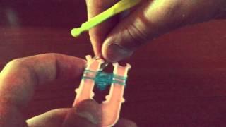 Как плести браслеты - Браслет бантик - Урок #4