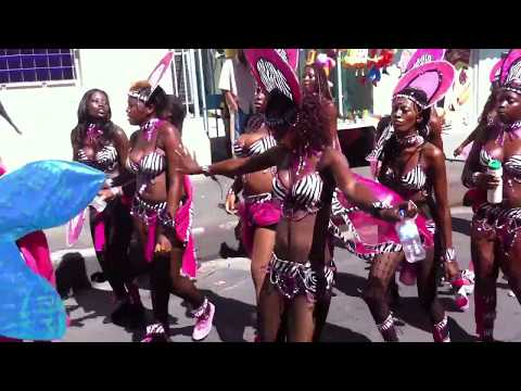 Antigua Carnival street parades in St. John's 2013