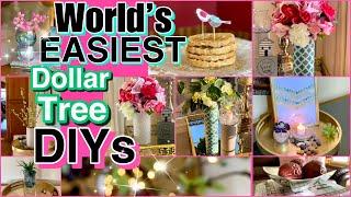 Worlds EASIEST Dollar Tree DIY ROOM DECOR