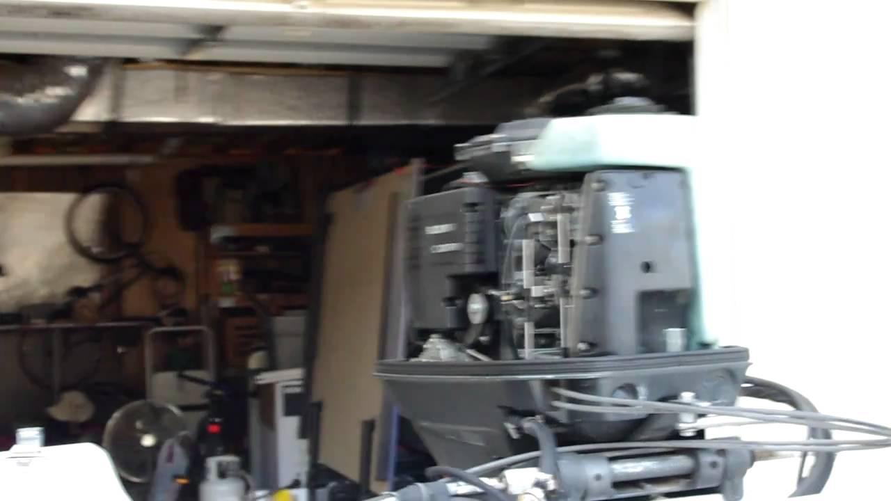 1989 Suzuki DT75 Serial number 07501 913508 - YouTube