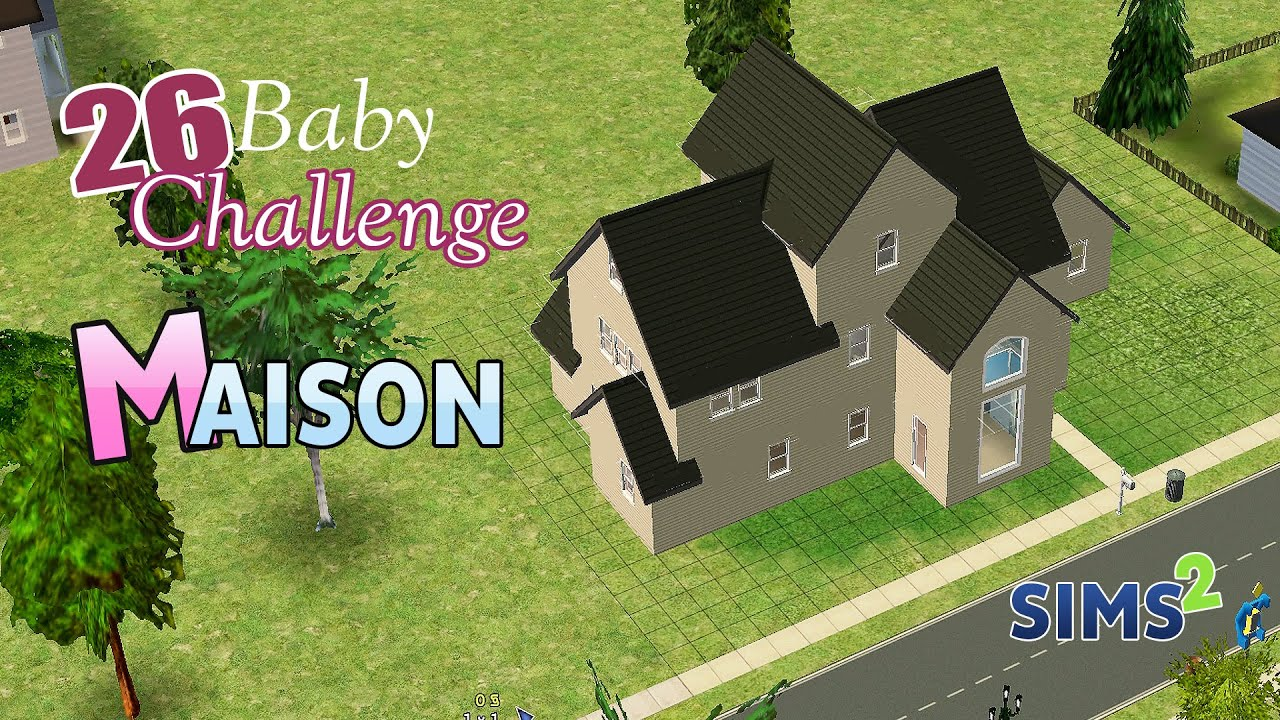 Let 39 s play sims 2 d co notre future maison youtube for Modele maison sims freeplay