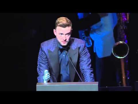 Justin Timberlake - Memphis Music Hall of Fame (2015)
