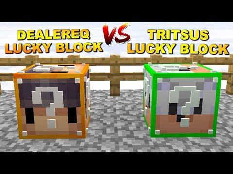 CO WYPADNIE Z TYCH LUCKY BLOCK !? - Minecraft DEALER & TRITSUS #11 [CRAFTED.PL]