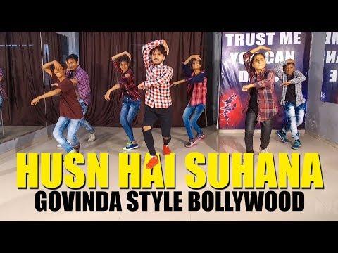 Download Youtube: Husn hai suhana | Govinda Style Bollywood Dance | Vicky Patel Choreography