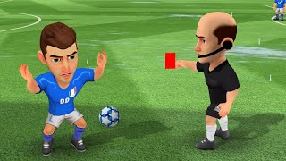 Mini Football match ITALY 567 vs 571 TURKEY